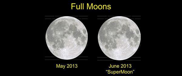 瘋完了嗎?好,這是所謂的超級月亮