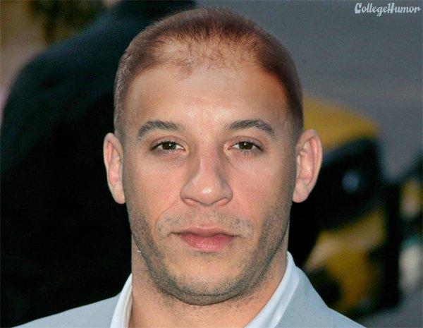 看什麼看,沒看過禿頭馮迪索嗎?5