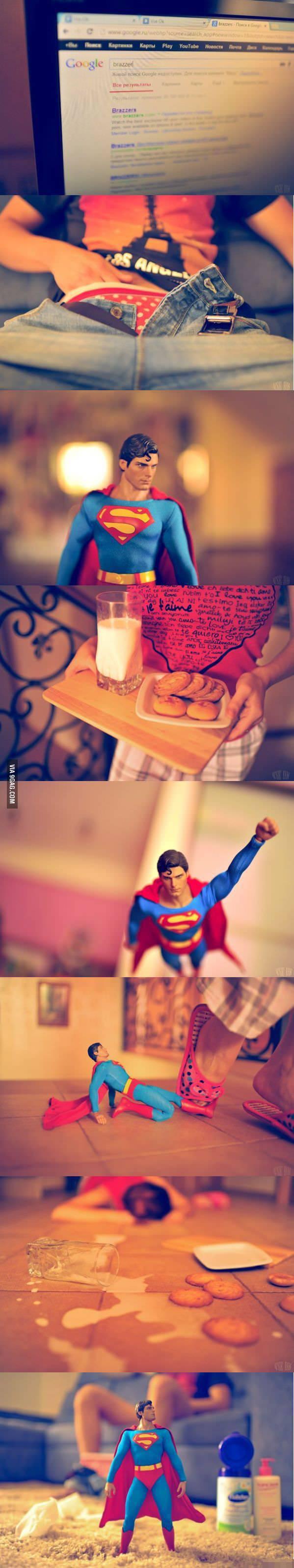 超人如何保護現代的小孩1