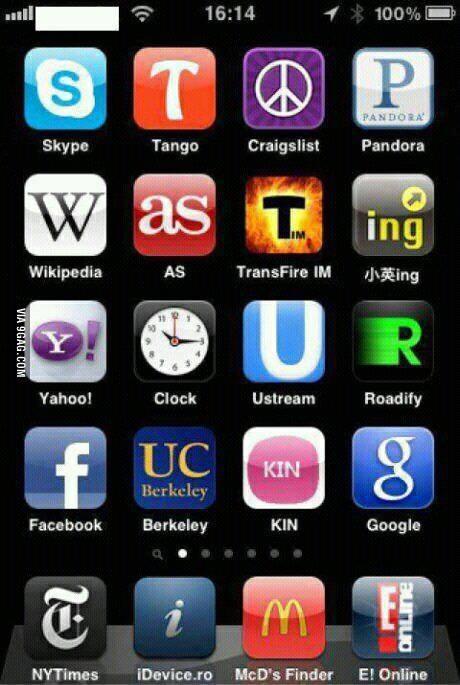這些app icon裡藏了一條隱藏訊息...1