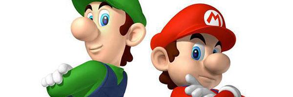 這是瑪莉兄弟沒有鬍子的樣子