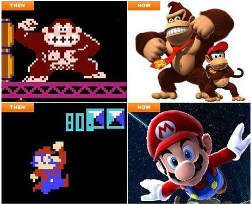電玩角色的過去-vs-現在2