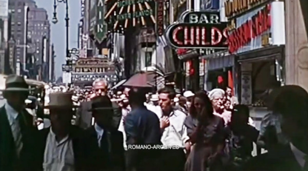 1939年的紐約根本跟現在沒什麼兩樣!2