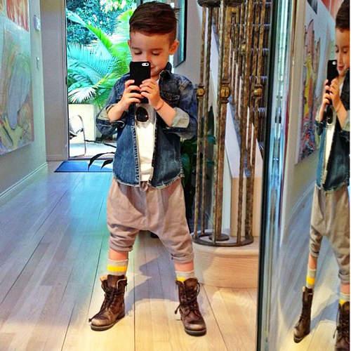 世界上最時尚小孩!11