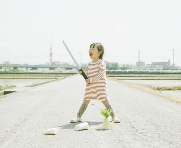 清新搞笑風!超萌小女孩的生活冒險7