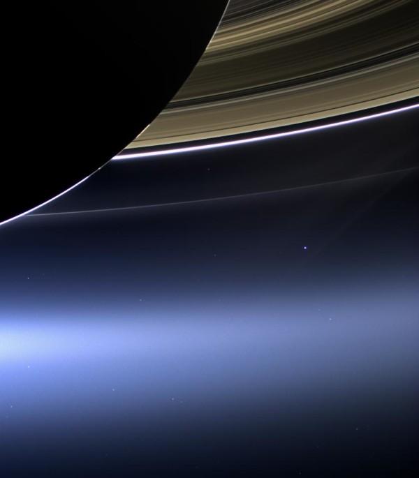 被甩算啥,看看這張土星拍到的地球吧!4