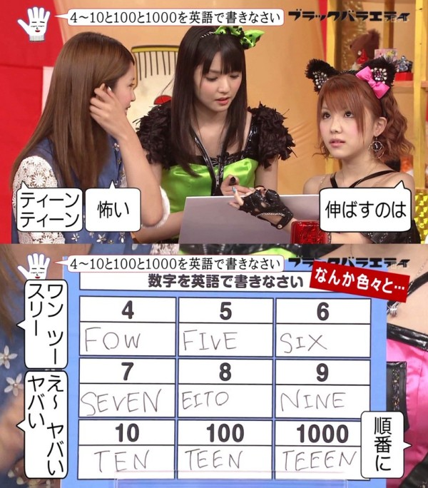 說到日本人的英文程度...1