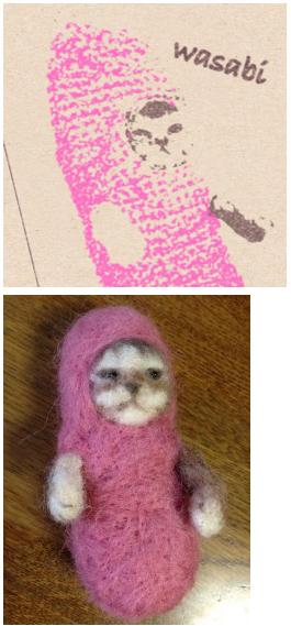 超可愛!但是會讓你落淚的蘑菇裝貓咪9