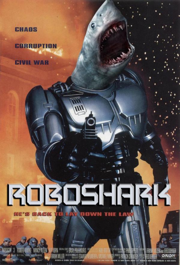 電影海報裡有鯊魚才有賣點6