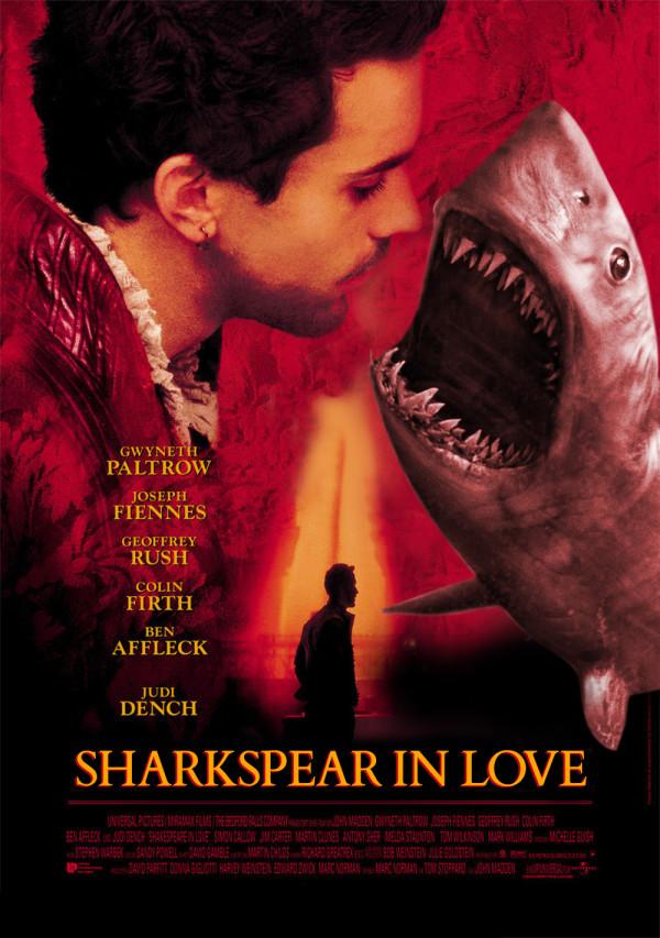 電影海報裡有鯊魚才有賣點7