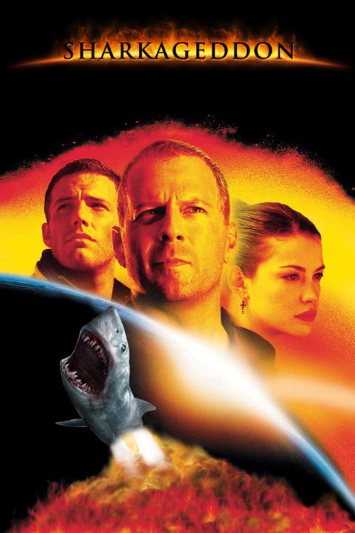 電影海報裡有鯊魚才有賣點8
