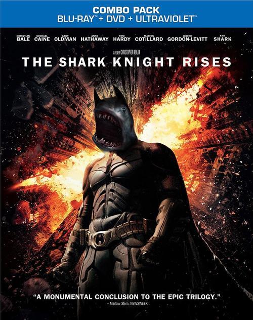 電影海報裡有鯊魚才有賣點9