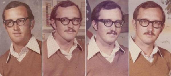 40年來都穿同一套衣服拍畢冊照的老師1