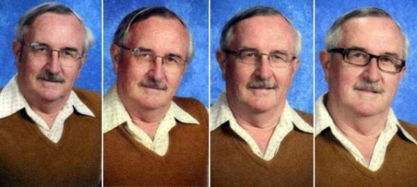 40年來都穿同一套衣服拍畢冊照的老師10