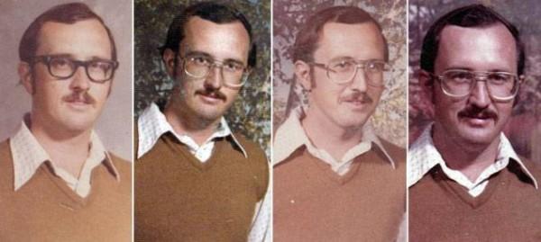 40年來都穿同一套衣服拍畢冊照的老師2