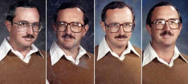 40年來都穿同一套衣服拍畢冊照的老師4