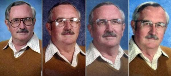 40年來都穿同一套衣服拍畢冊照的老師6