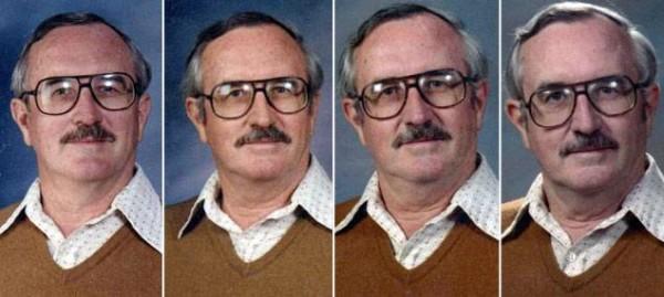 40年來都穿同一套衣服拍畢冊照的老師8