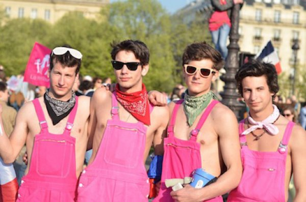 Gay到不行的法國反同性戀人士1