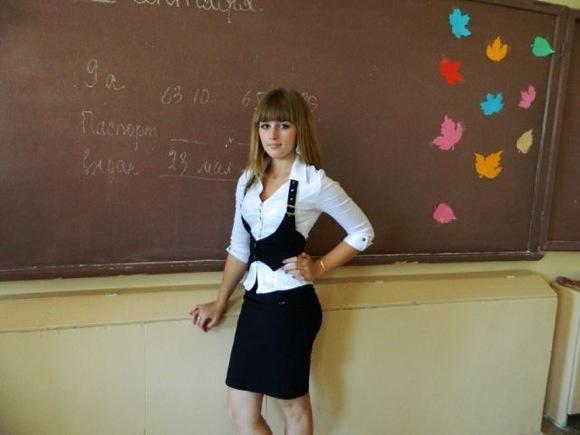俄國17歲正妹的壯碩身材9