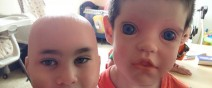 好毛好毛,娃娃臉與人臉交換