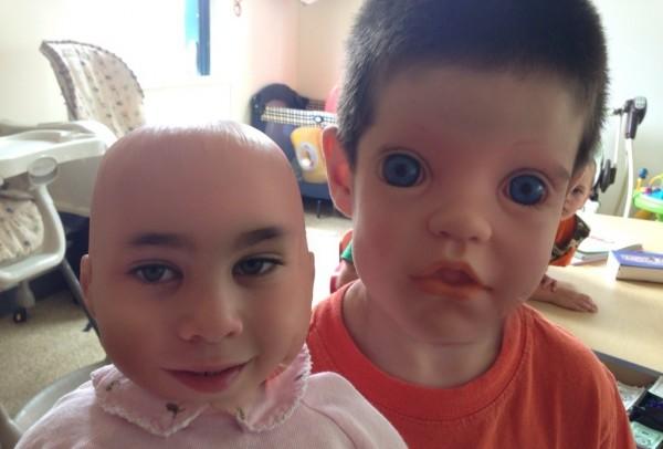 好毛好毛,娃娃臉與人臉交換1