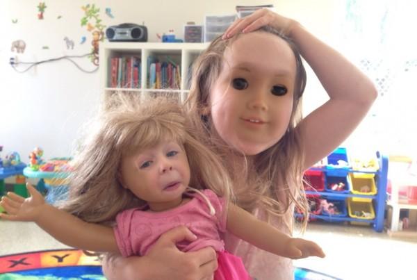 好毛好毛,娃娃臉與人臉交換2