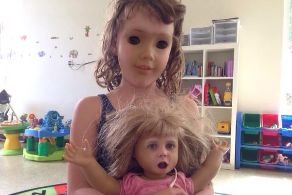 好毛好毛,娃娃臉與人臉交換4