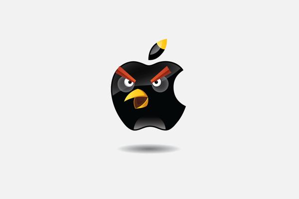 如果星巴克、Chrome通通來自憤怒鳥..3