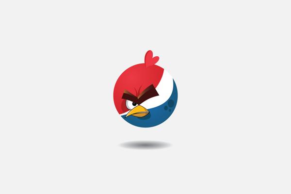 如果星巴克、Chrome通通來自憤怒鳥..6