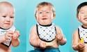 嬰兒初嚐檸檬的好笑表情