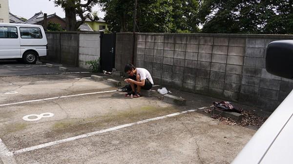 日本攝影師教你拍出一個人的閃光畫面4