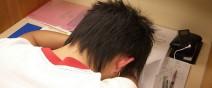 活捉在圖書館裡睡著的人!0