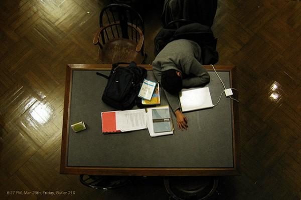 活捉在圖書館裡睡著的人!12