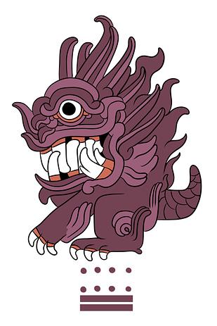 神奇寶貝變成瑪雅文化的聖獸21