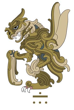 神奇寶貝變成瑪雅文化的聖獸81