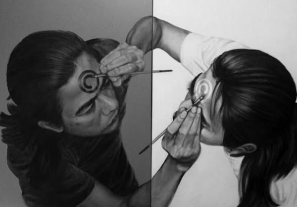 藝術家自己畫自己畫自己(無誤)2
