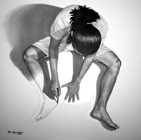 藝術家自己畫自己畫自己(無誤)5
