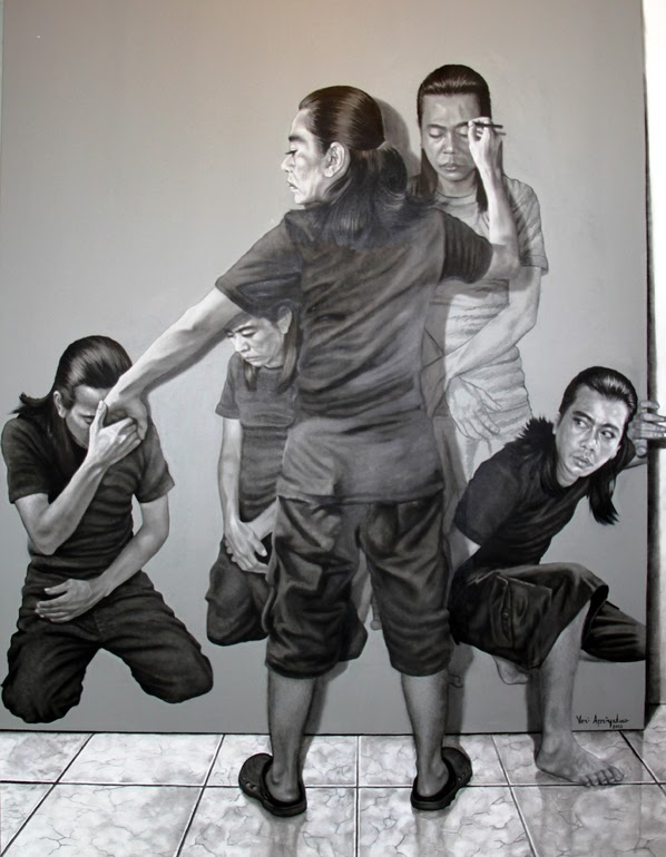 藝術家自己畫自己畫自己(無誤)6
