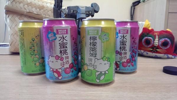 來罐貨真價實的Hello Kitty啤酒吧!1