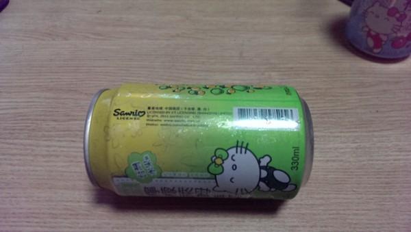 來罐貨真價實的Hello Kitty啤酒吧!2