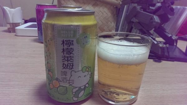 來罐貨真價實的Hello Kitty啤酒吧!3