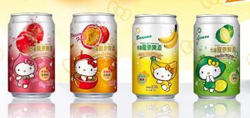 來罐貨真價實的Hello-Kitty啤酒吧!5