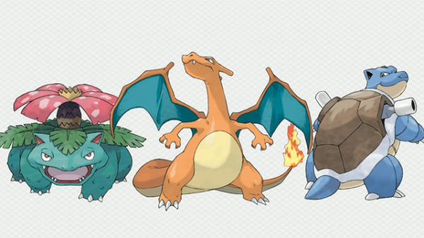 噴火龍、水箭龜、妙蛙花有進化了!1
