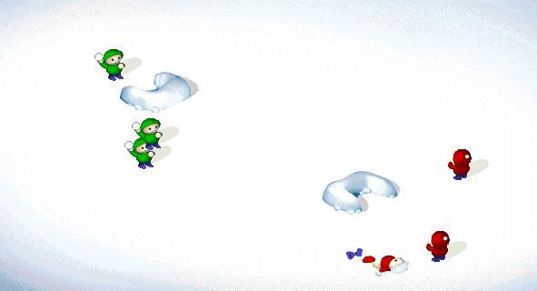 大家還記得這個砸雪球遊戲嗎?1