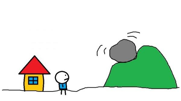 如何不被山上的石頭壓到(圖文教學)1