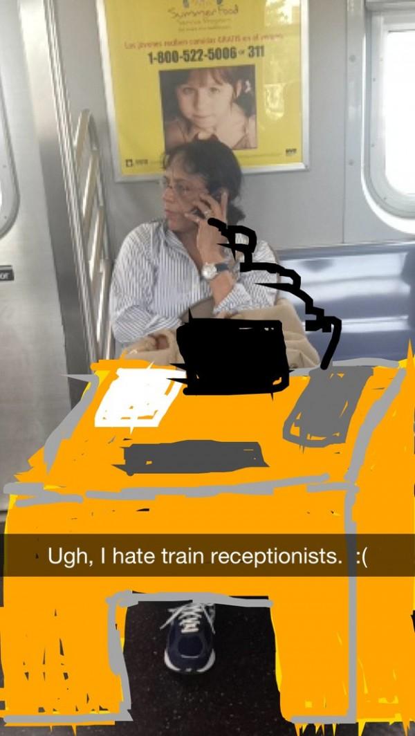 如何在捷運上很壞的打發時間15