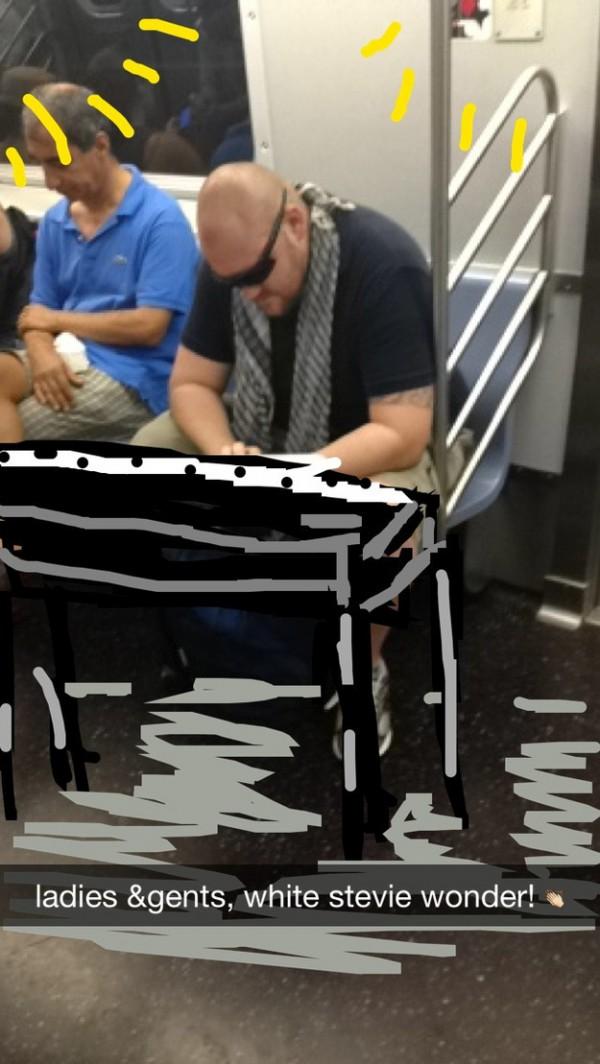 如何在捷運上很壞的打發時間7