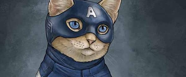 如果復仇者聯盟的角色都是貓星人