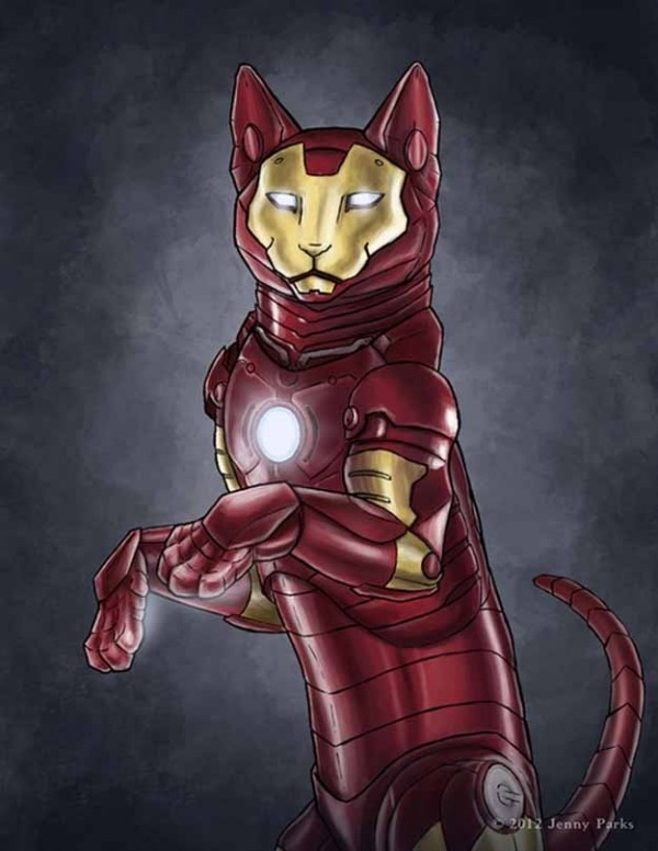 如果復仇者聯盟的角色都是貓星人2